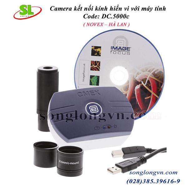 Camera kết nối kính hiển vi với máy tính dc 5000c Novex