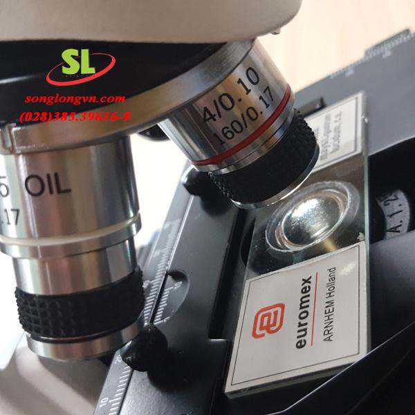 Kính hiển vi 2 mắt mb 1152 Euromex Hà Lan tốt