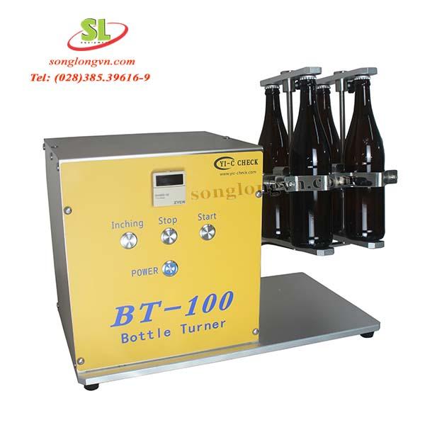 Máy lắc chai, lon Bottle Turner model BT-100 YIC Check