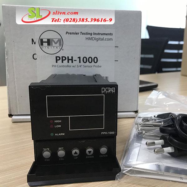 Thiết bị kiểm soát PH pph-1000 HM Digital
